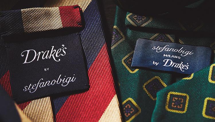 【ステファノ ビジ×ドレイクス】ミラノとロンドンのネクタイがコラボしたら、こうなった!