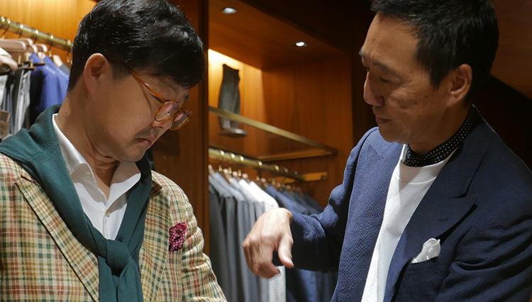 私のファッションアニキ、鴨志田さんに教わったこと【韓国紳士の東京リー散歩 #01】