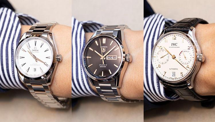 メンズ腕時計のケース適正サイズは何mm? 実際に手首で比べたら…?