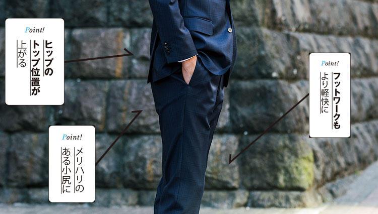 """スーツが似合うカラダになる""""服筋""""#8 上向きヒップで下半身を引き締めろ!"""