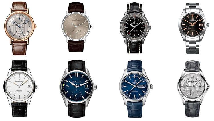 オメガ、グランドセイコー、ブレゲ…知的好奇心旺盛な男の腕時計を8本選ぶなら?
