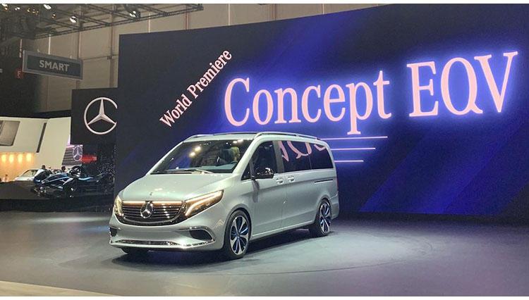 メルセデス・ベンツの電動大型ミニバン「コンセプトEQV」がいよいよ来る!