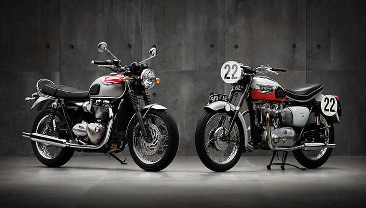 トライアンフ「ボンネビルT100」 今、販売台数を伸ばす英国ネイキッドバイクに試乗!