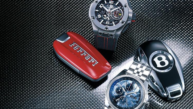 ポルシェ、フェラーリ、マセラティ、ベントレー、メルセデス…もしもスーパーカーのオーナーになったら腕にしたいコラボ時計とは?