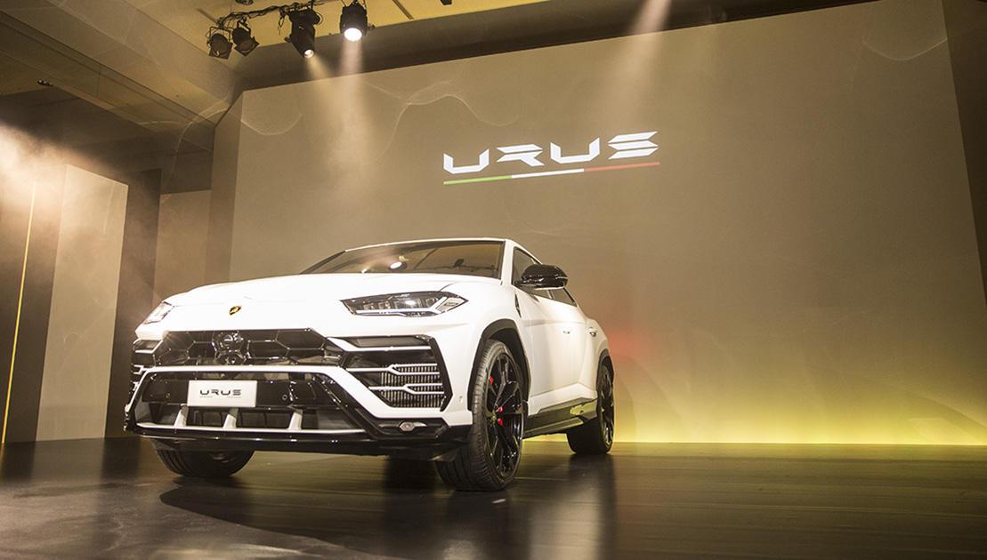 ランボルギーニが世界初のスーパーSUV、 ウルスをジャパンプレミアで公開