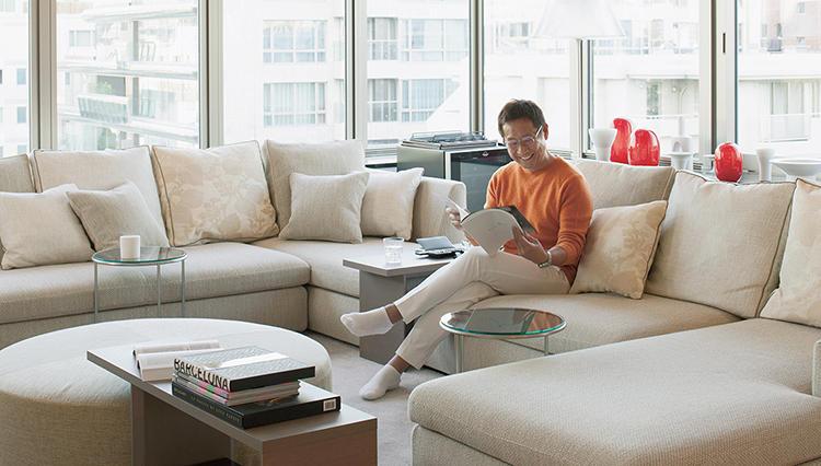 「上質な男の居場所とは?」人とアートが主役になれる洗練された住空間