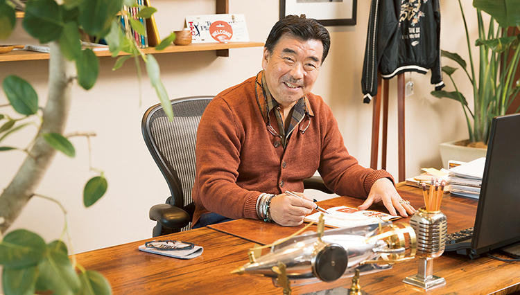 ビームス取締役副社長・遠藤恵司さん「仕事部屋には遊び心があっていい」