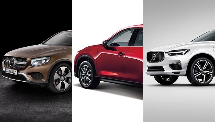 マツダ、ボルボ、メルセデスの人気SUV、一番エコなのはどれだ?