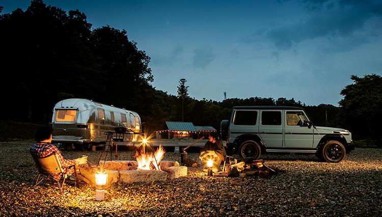 販売終了間近となったメルセデス Gクラスで、オトコのキャンプ旅@福島へ