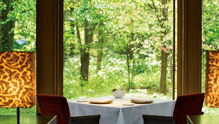 星野リゾート ブレストンコート ユカワタンで味わう、軽井沢のニッポン・フレンチ〜とっておきの場所#3〜