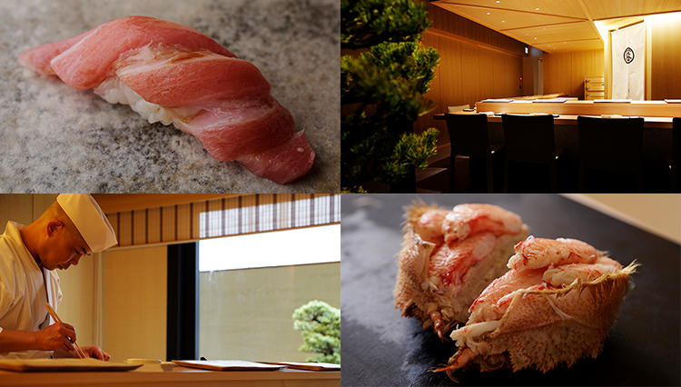 ミシュラン三ツ星「鮨さいとう」とLDH kitchenがコラボレート、究極の鮨を目指す「鮨つぼみ」の実力を探る