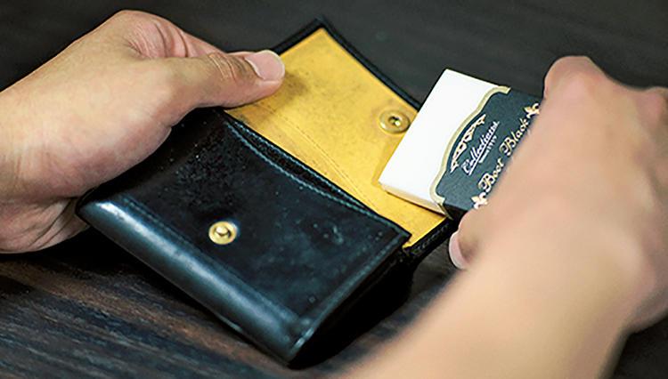 意外と見られている「財布」のメンテナンスこそマメに実践すべし!