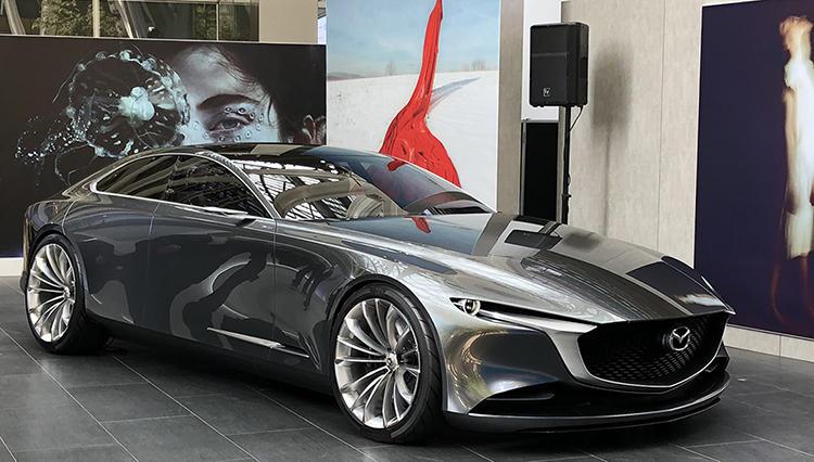 マツダが作った、世界でもっとも美しいコンセプトカー「VISION COUPE」を公開中!