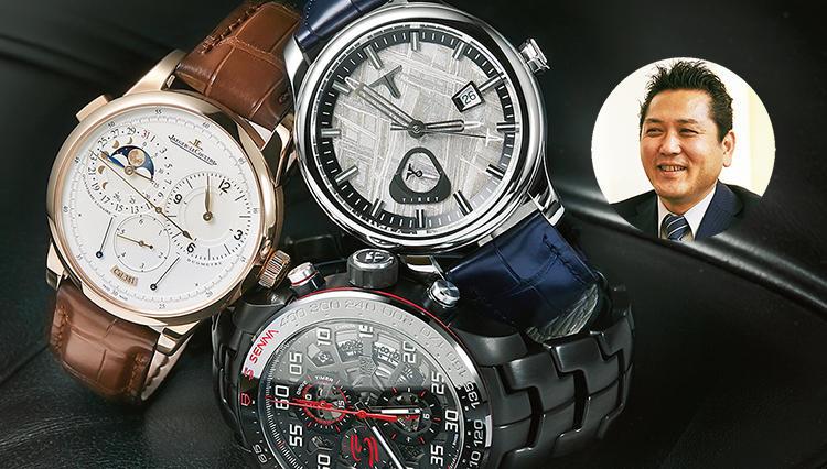 外資系営業職が選ぶ「私の1軍時計、3本勝負」