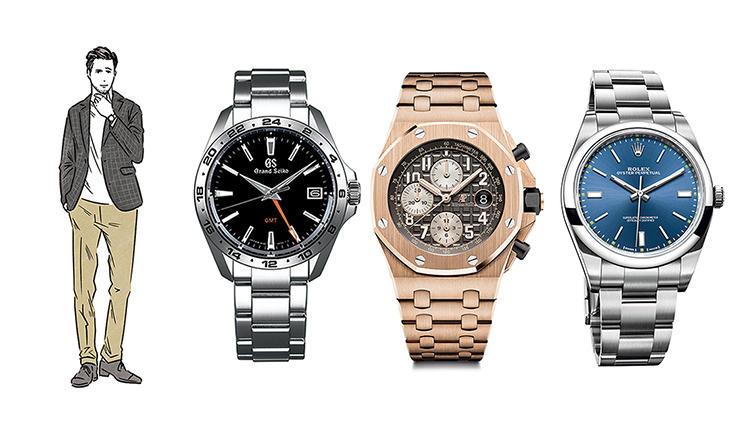 「バランスのいい男」が選ぶ、ジャケットスタイルに映える腕時計6選