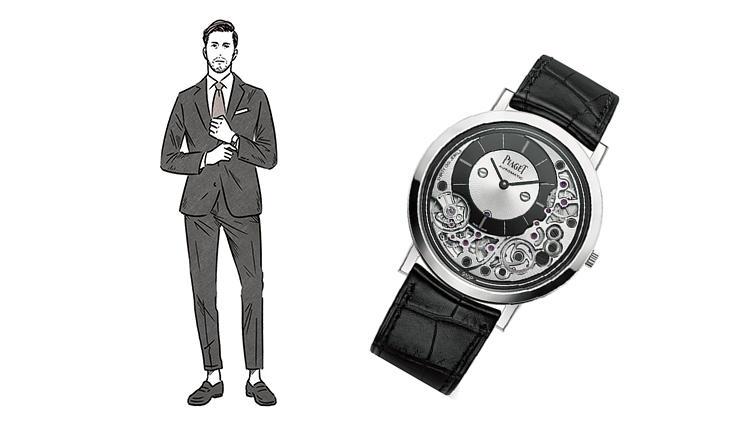 魅せる時計選びは「色気」も重視 → なら、理想はこの3本でしょう