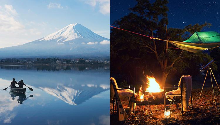 早朝カヌーに空中テント!? 体を動かすと気持ちも前向きに【星のや富士の冬グランピング・後編】