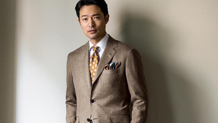 「キートン」のスーツは、何故、着る人を優雅に見せるのか?