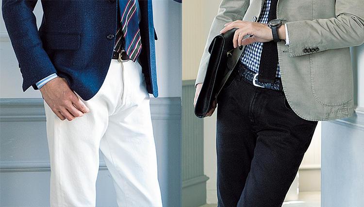 40代、50代メンズに似合う「大人のジーンズ」は、それぞれ何色?