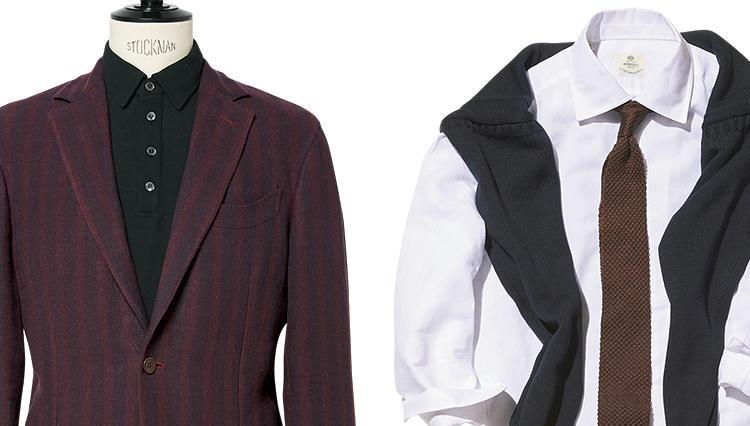 ジャケットやシャツ、お洒落に着こなすなら「〇〇〇の混率」をチェックせよ!