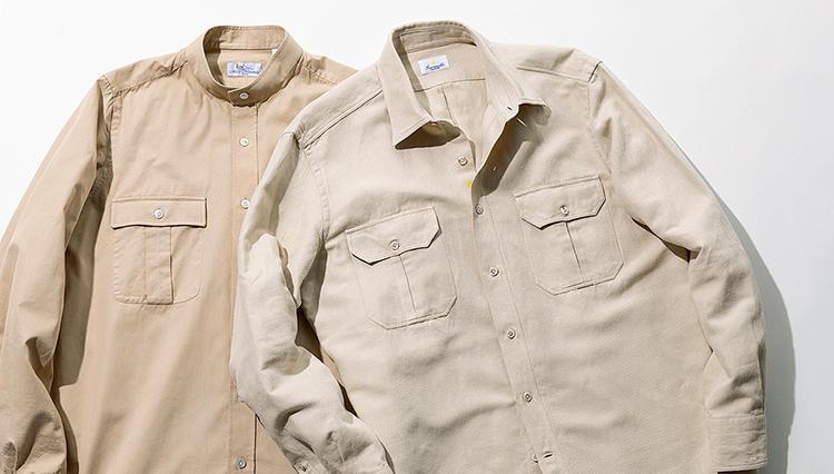 最旬「2ポケットシャツ」を、仕事/休日の両方で着るコツは?