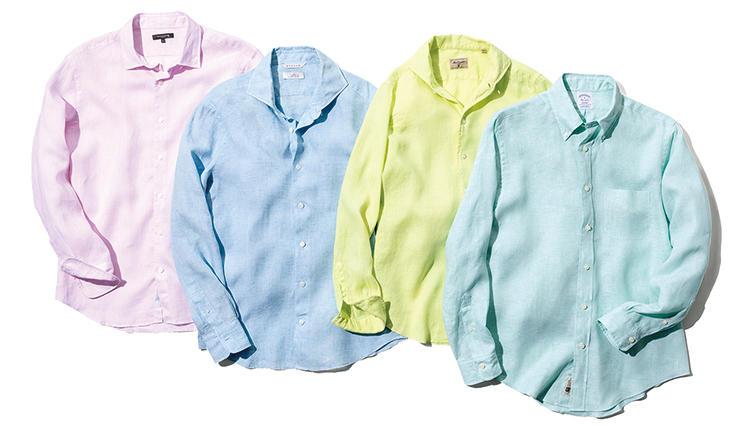 夏の休日リゾートに◎な「リネンシャツ」8選