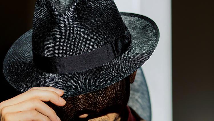 渋沢栄一も愛用したダンディな帽子で、これぞ紳士の熱中症対策