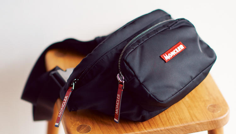 欲しかった休日専用ミニバッグ。なんとモンクレールにありました