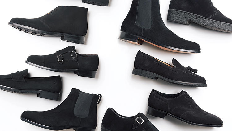 この秋買うべき、人気ブランドの「黒スエード靴」10選はコレだ!