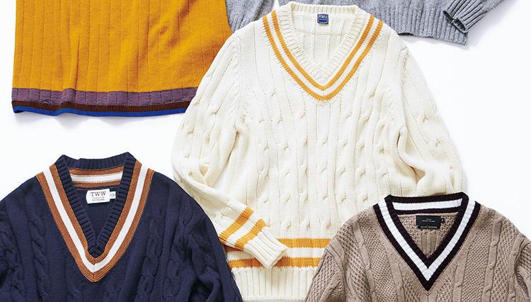 秋の着こなしが旬になる!「クリケットセーター」10選