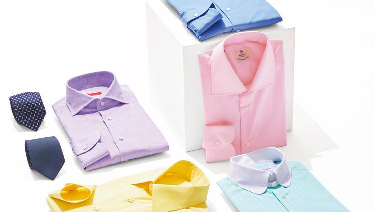 この春はパステルカラーのドレスシャツが豊作です