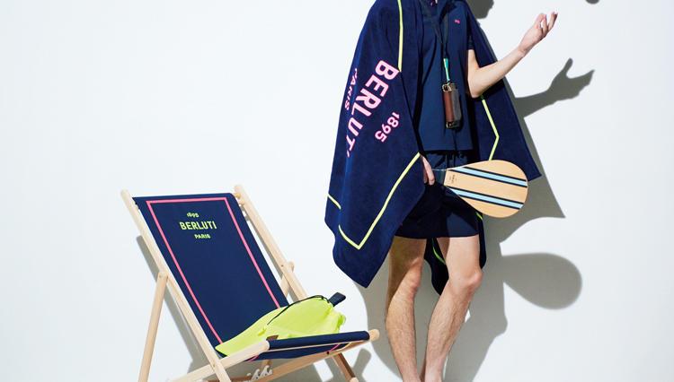 大人のビーチリゾートスタイル。メゾンブランド「ベルルッティ」ならこんなに贅沢!
