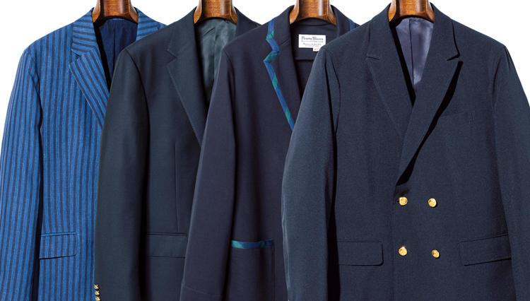 「伝統的な紺ブレ」は、この4型を覚えておけば間違いない!