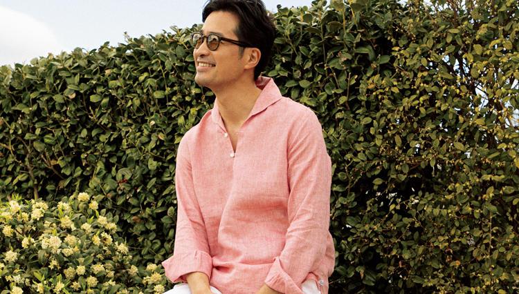 大人の「休日リゾートに似合うシャツ」はこんな色&素材!