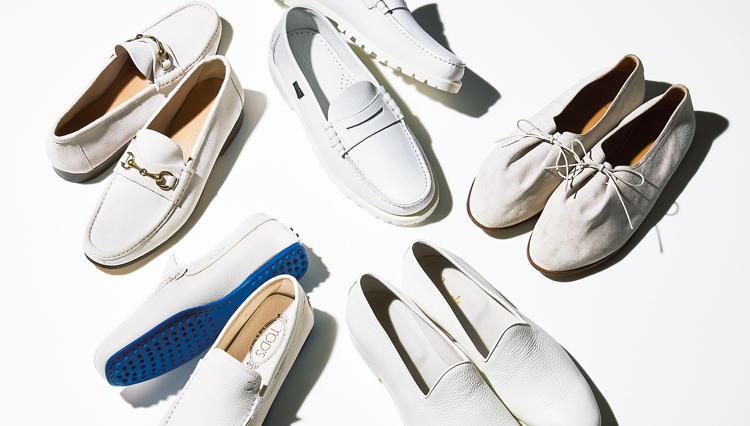 白スニーカーもいいけど、大人の休日は「白の革靴」がオススメです