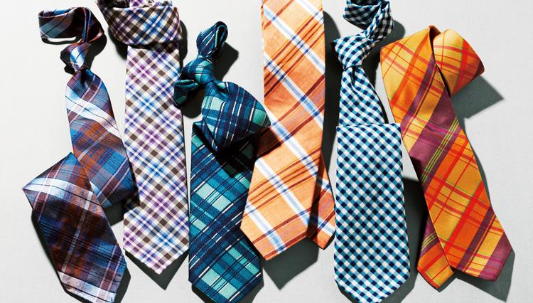 堅苦しいスーツ姿をどうにかしたいなら「チェック柄のネクタイ」はいかが?