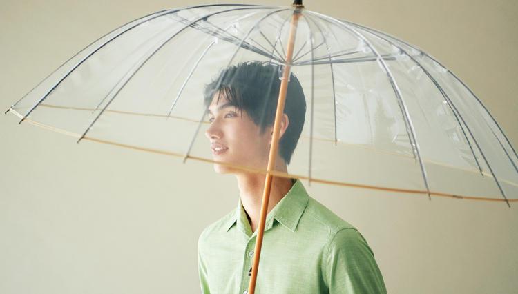 ビニール傘なんてどれも同じ…じゃないです、宮内庁御用達の本格仕様をご覧あれ!