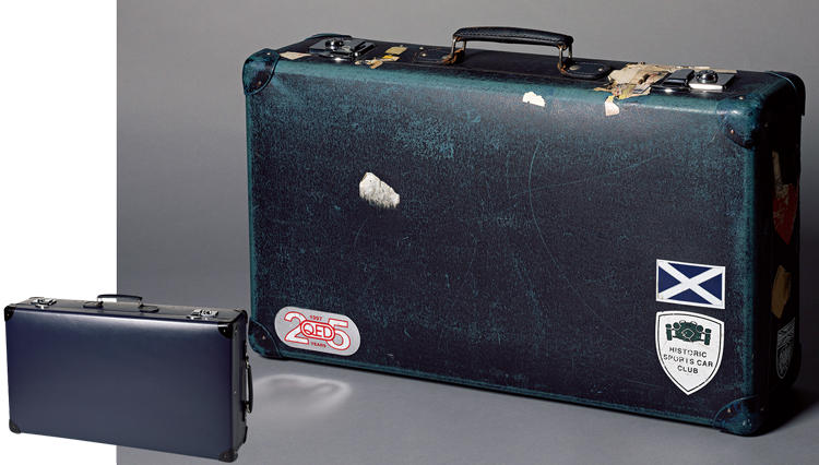 30年使い続けて自分の味になる、「グローブ・トロッターのスーツケース」