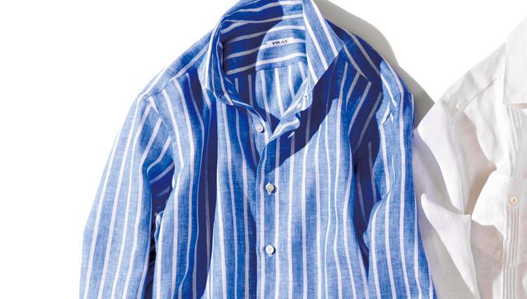 夏の休日スタイルを格上げしてくれる「リネンシャツ」はこの2枚!