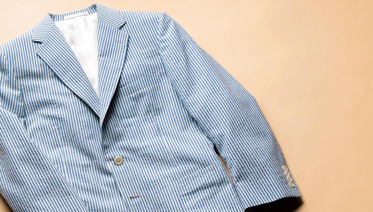 シアサッカーのジャケットは、ペラペラの軽薄さに注意!【名作予報】