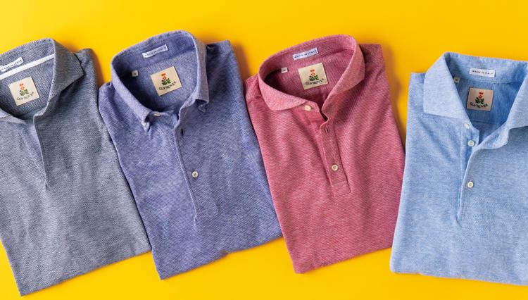 ポロシャツを大人っぽく着るなら、ドレスシャツ専業ブランドから選ぶと間違いない