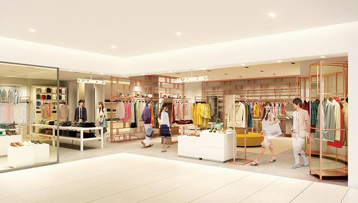 デザインワークス 大丸心斎橋店がオープン、限定ブルゾンも発売に【ひと言ニュース】