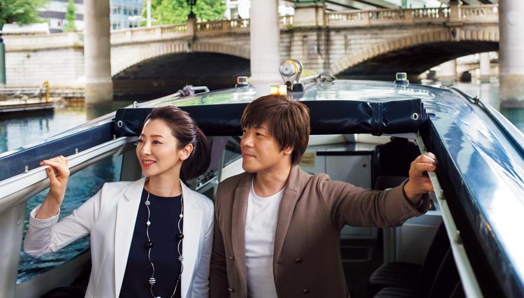 作家・平野啓一郎さん&春香さん夫妻が巡る「日本橋が育んできた今を訪ねて」