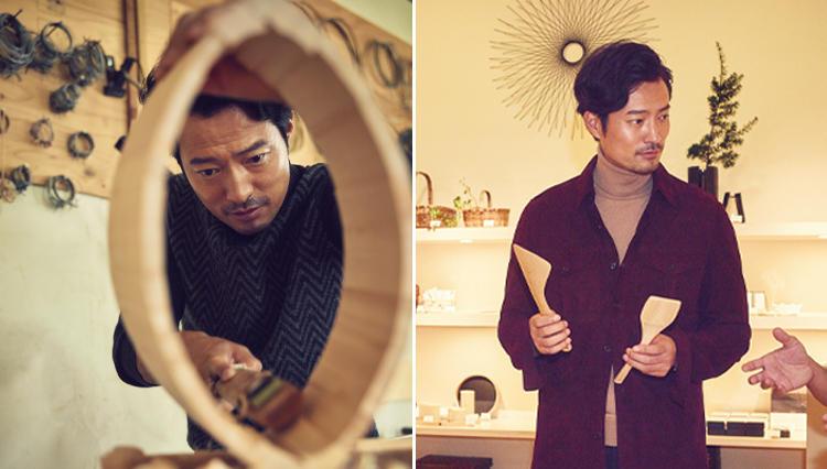 旅人・マエカワヤスユキ、京都の木工工芸を知る