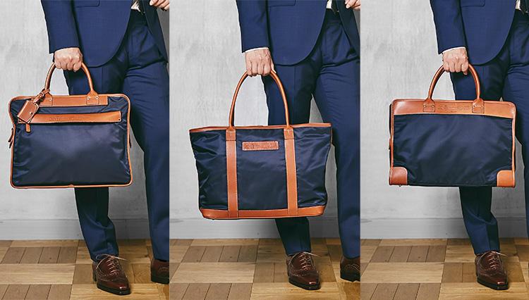 フェリージの人気鞄、ビジネスで使いやすい「紺×茶」を型違いで持ち比べてみた!