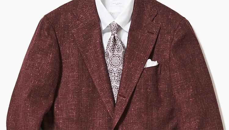 定番グレーパンツ、変化をつけるならこんなジャケットが◎【スーツの着回し1週間チャレンジ!/リングヂャケット編#5】