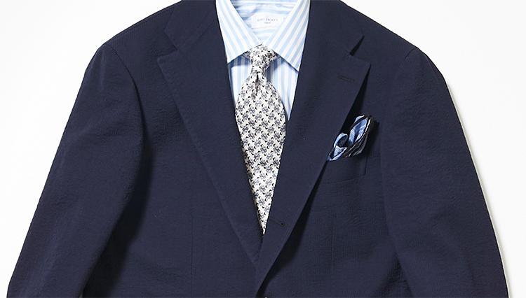 涼感/軽量/シワになりにくい紺スーツ、発見!【スーツの着回し1週間チャレンジ!/リングヂャケット編#1】