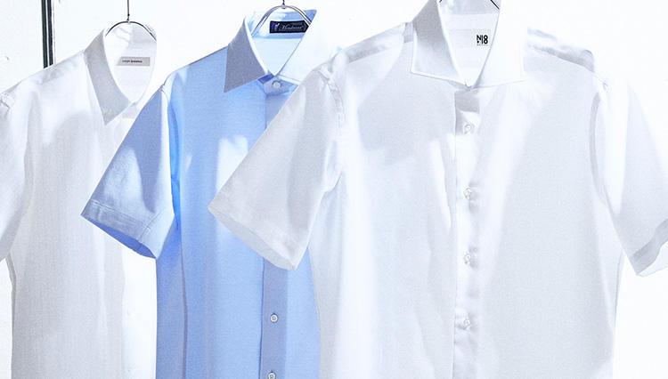 夏の不快を一発解決、「お洒落でクールな半袖ドレスシャツ」はタカシマヤにあった!