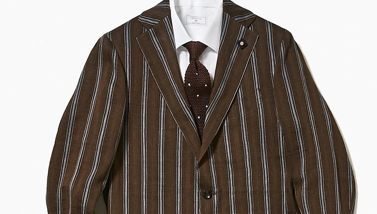 同じジャケットで、シャツだけ替えて昼・夜モードを変えるテク【スーツの着回し1週間チャレンジ!/高島屋編#5】