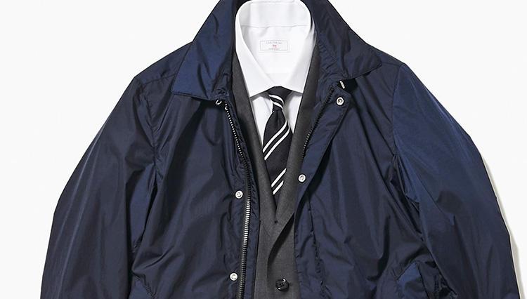 出張先では、こんなスーツが重宝する!【スーツの着回し1週間チャレンジ!/高島屋編#2】